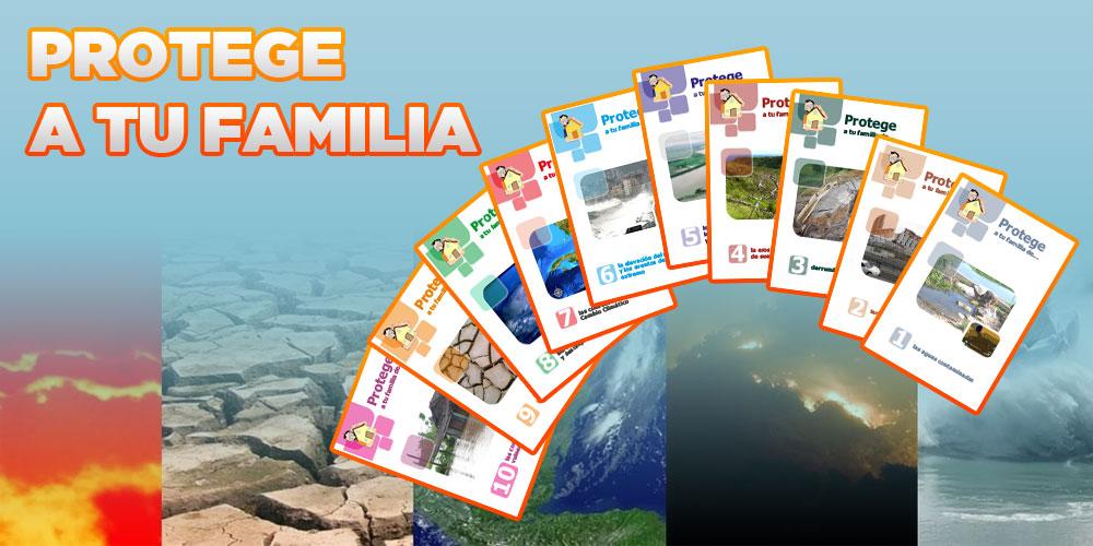 Protege a tu familia de terremotos, huracanes, fuertes vientos