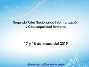 0118 Segundo_Taller_Nacional_de_Informatización_y_Ciberseguridad_Territorial