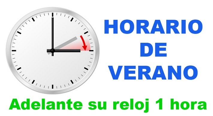 0309 horario verano reloj