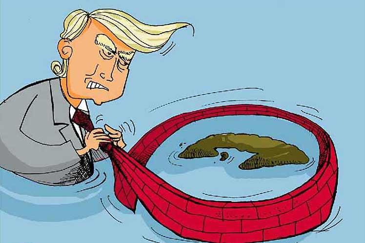 Bloqueo Trump