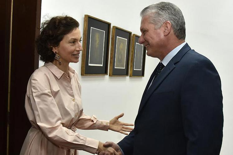 Canel Audrey Azoulay