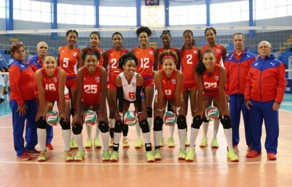 Cuba Voleibol Femenino Campeonas Panamericanas Sub 20 580x372