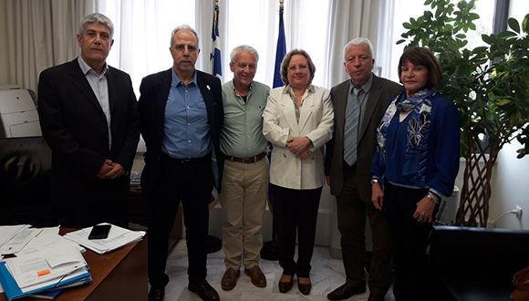 Cuba y Grecia cooperación