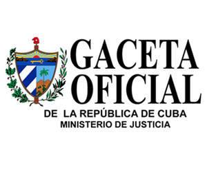 Gaceta Oficial de Cuba1