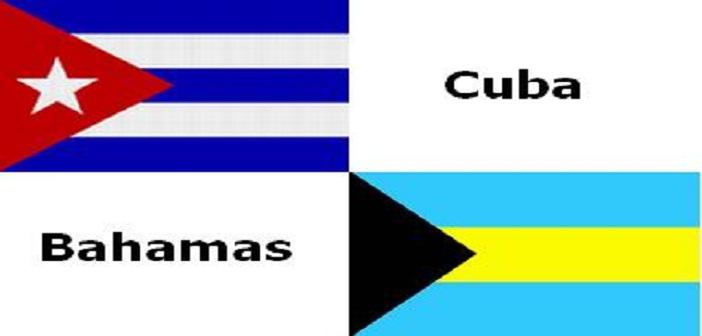 bahamas cuba banderas