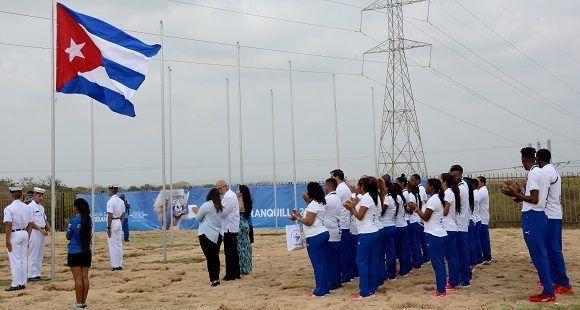bandera cubana juegos centroamericanos 3 580x310