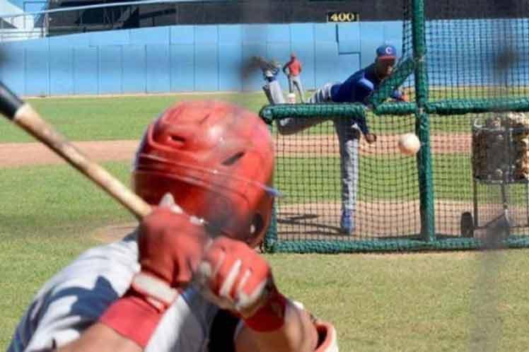 cuba beisbol entrena