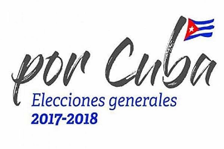 cuba elecciones cartel