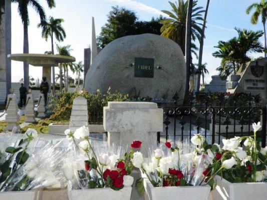 homenaje fidel santa ifigenia
