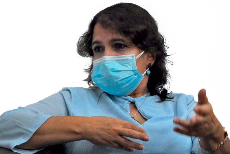 Doctora Marta Ayala Ávila, directora general del Centro de Ingeniería Genética y Biotecnología, donde ha transcurrido toda su vida laboral. Foto: Agustín Borrego