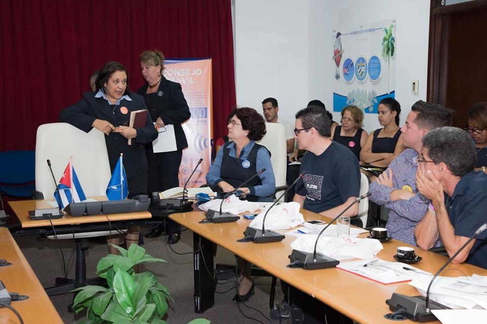 Presidenta de ETECSA, Mayra Arevich