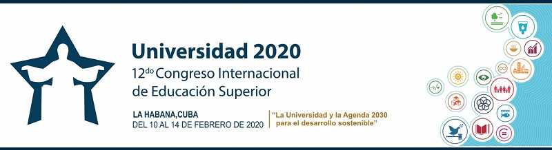 Logo del Congreso Internacional Universidad 2020