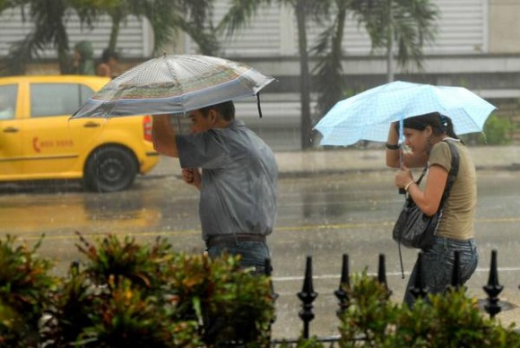 lluvias occidente cuba