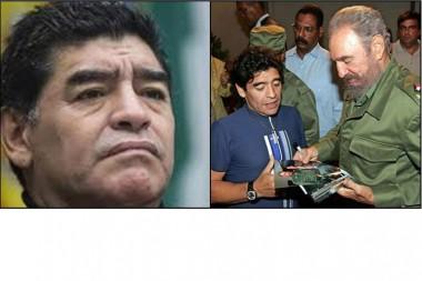 Maradona y Fidel