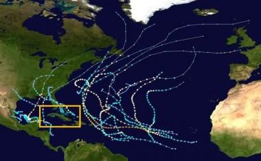 La muy activa temporada de huracanes de 1995/Wikipedia.