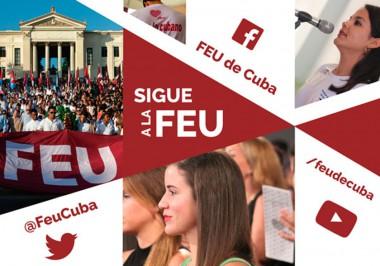 La FEU y un homenaje a Martí desde el debate comprometido