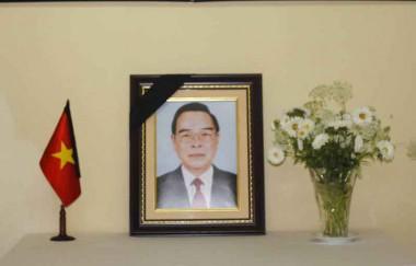 Condolencias por el fallecimiento de Phan Van Khai