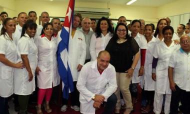 Brigada médica cubana en Perú