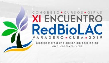 Banner del XI Encuentro de la Red de Biodigestores para Latinoamérica y el Caribe
