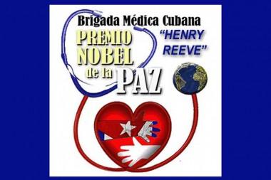 Crece en Francia respaldo al Nobel de la Paz para médicos cubanos
