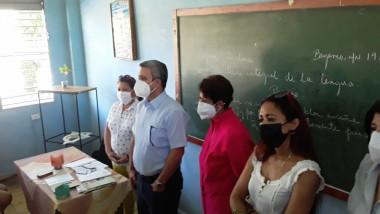 Jorge Luis Perdomo encabeza visita de trabajo a Granma
