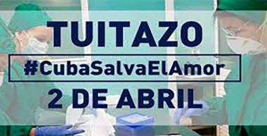 tuitazo #CubaSalvaElAmor