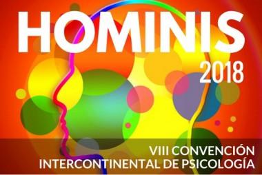 Banner alegórico a la III Convención Intercontinental de Psicología (Hominis) 2018