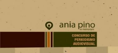 Banner alegórico al concurso de periodismo Ania Pino