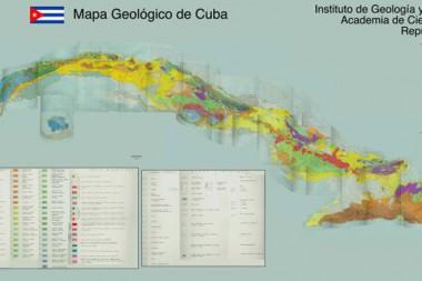 Mapa Geológico de Cuba