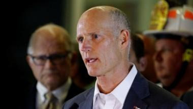 El gobernador del estado norteamericano de Florida, Rick Scott