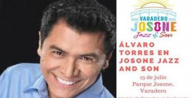 Cantautor salvadoreño Álvaro Torres actuará el 13 de julio en Festival musical, en Varadero