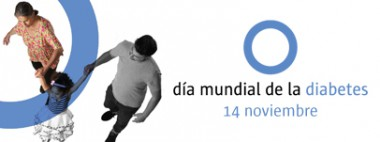 Banner alegórico al Día Mundial de la Diabetes 2018