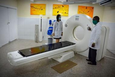 Tomógrafo para la atención de pacientes con cáncer / FOTOS: JUAN PABLO CARRERAS