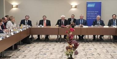 Se reunió Díaz-Canel, en Londres, con empresarios de la Iniciativa Cuba en el Reino Unido