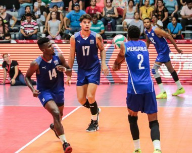 Cuba vs. Chile en semifinal de Copa Panamericana de Voleibol