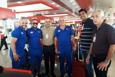 Viajan a Lima atletas cubanos