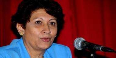 Ena Elsa Velázquez, ministra de Educación