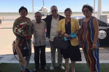 Llega a Sudáfrica delegación con héroe cubano Antonio Guerrero