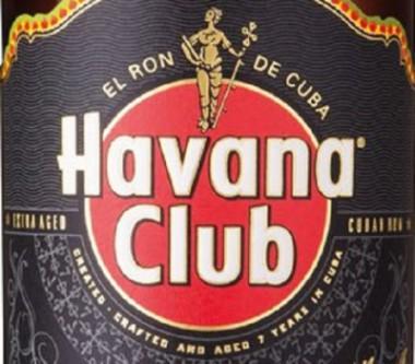 Banner alegórico al Ron cubano Havana Club