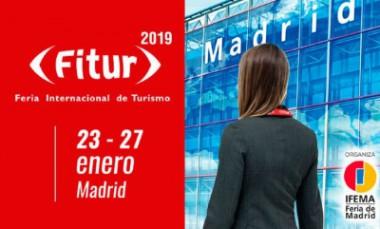 Banner alegórico a FITUR 2019