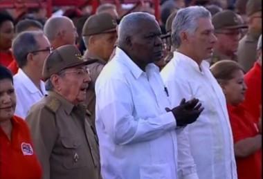 Raúl  preside en Vueltabajo el acto central por el aniversario 64 de la gesta del Moncada y Día de la Rebeldía Nacional.