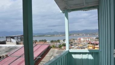 Balcón desde el que Fidel vió el mar por primera vez