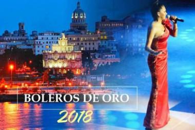 Banner alegórico al Festival Boleros de Oro 2018