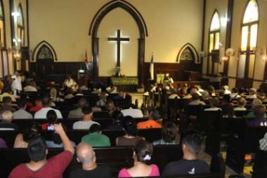 Religiosos de Cuba oran por la paz en Venezuela y Nicaragua