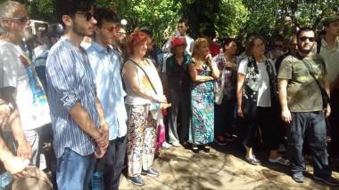 Integrantes de la Brigada europea de solidaridad con Cuba, José Martí
