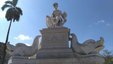 Fuente de la India: deidad de la mitología habanera