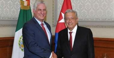 Andrés Manuel López Obrador y Miguel Díaz-Canel Bermúdez / Foto: Archivo RHC
