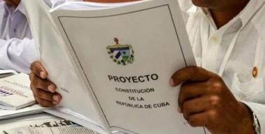 proyecto de Constitución cubana