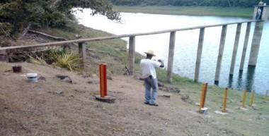 Excavación de  pozos en las distintas áreas geográficas del país