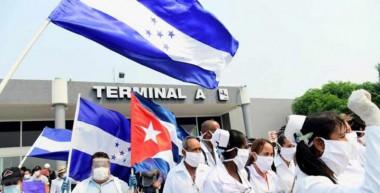 Brigada Médica cubana en Honduras. Foto: Prensa Latina.